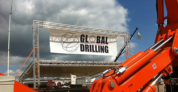 Banderoll, Global Drilling, MaskingExpo